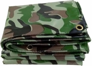 Тент камуфляж 2 x 3 м «политарп 120», усиленный край и углы, шаг лювер