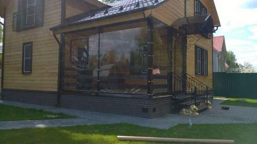 Пвх шторы для террасы дома