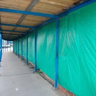 Завеса утепленная ( трехслойная ) тарпаулин 4х8 м